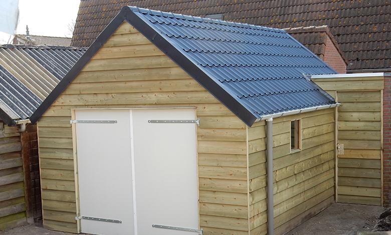 Garage Met Veranda : Bouw veranda en garage muntendam bouwstudio koster